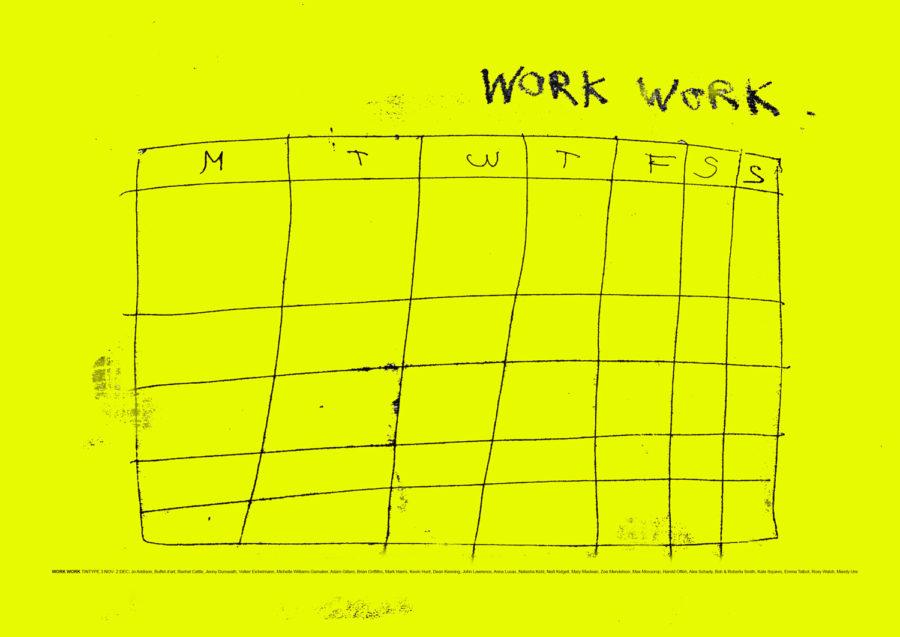 Work Work timetable